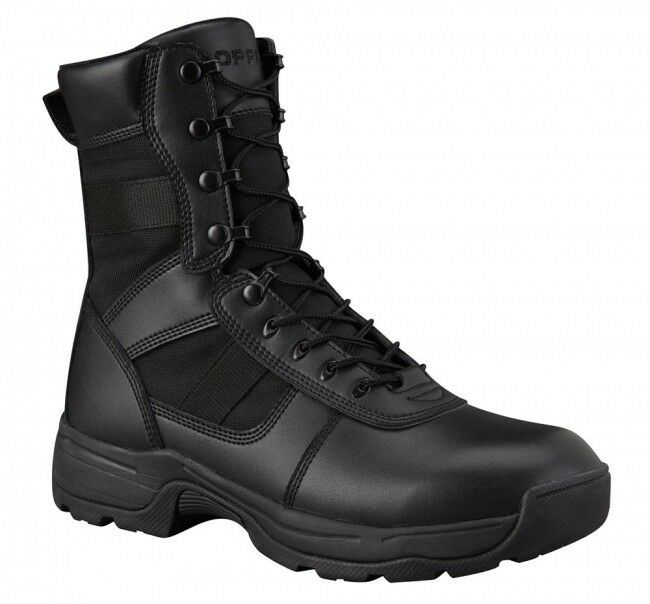 Men's Tactical 8  Side Zipper Black Boots Series 100 by Propper F4507