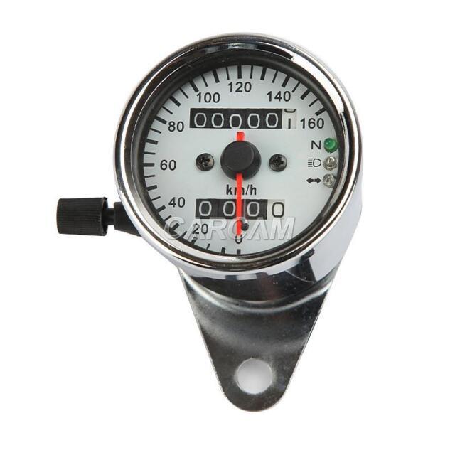 Dual Odometer Speedometer Gauge A For Honda VT Shadow Spirit Deluxe 600 750 1100