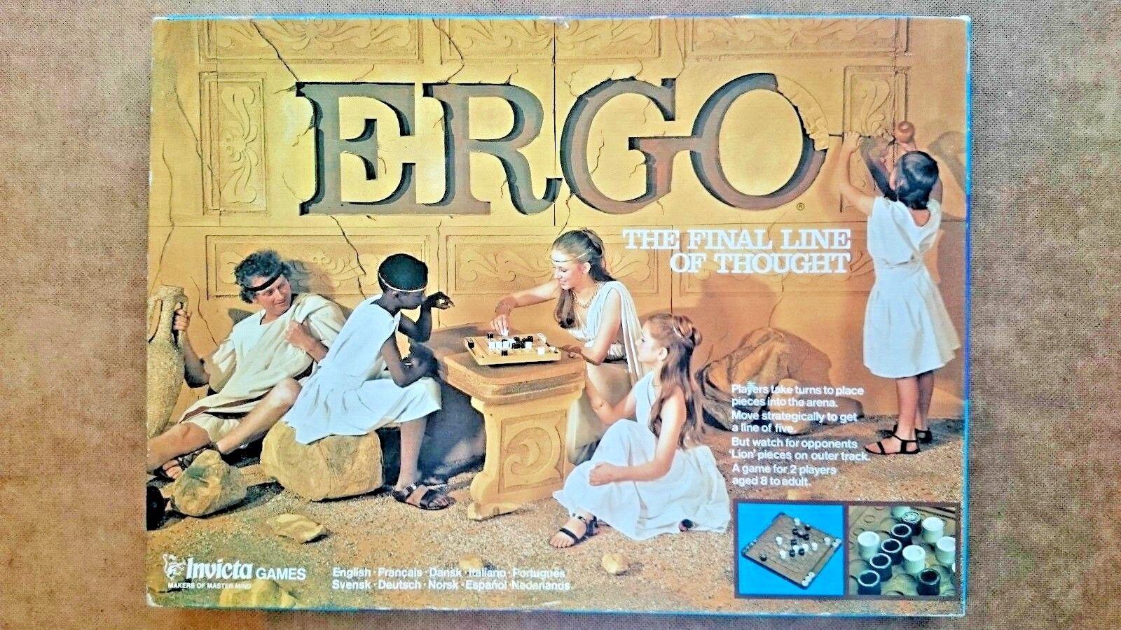 Ergo - spiel von invicta spiele 1977