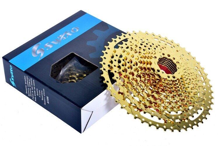 12 Speed 11-50T MTB mountain Bike Freewheel bicycle flywheel Cassette gold 680g