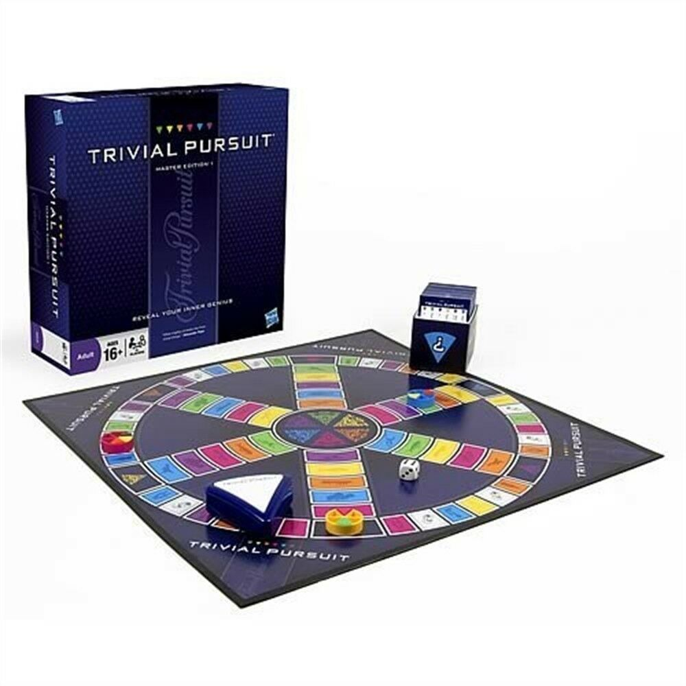 Trivial Pursuit Master Edition - Game Worlds Best Quiz Board Choose New Sealed