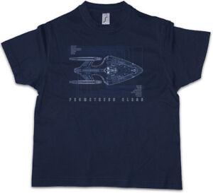 Details about BLUEPRINT PROMETHEUS CLASS FEDERATION Kids Boys T-Shirt Star  Enterprise Trek