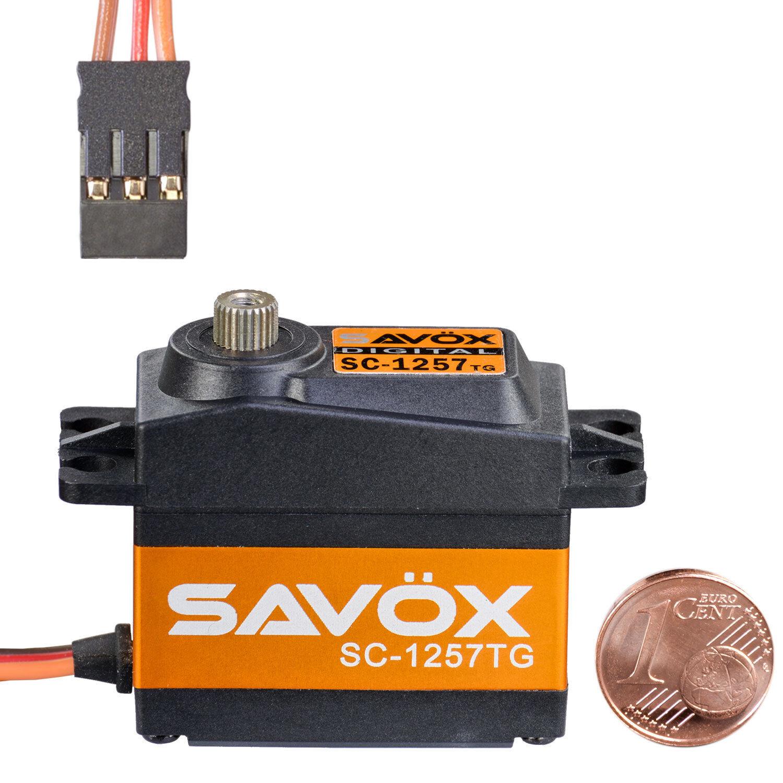 Digital Standard Servo SAVÖX sc-1257tg 80101002 810203