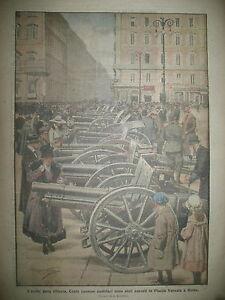 ROME-EXPOSITION-TROPHeS-CENT-CANONS-AUTRICHIENS-LA-DOMENICA-DEL-CORRIERE-1919