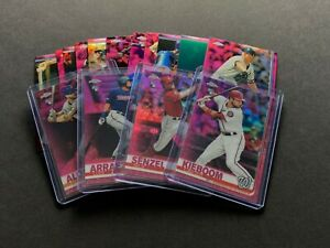2019 Topps Chrome Pink Refractor Complete Your Set You Pick