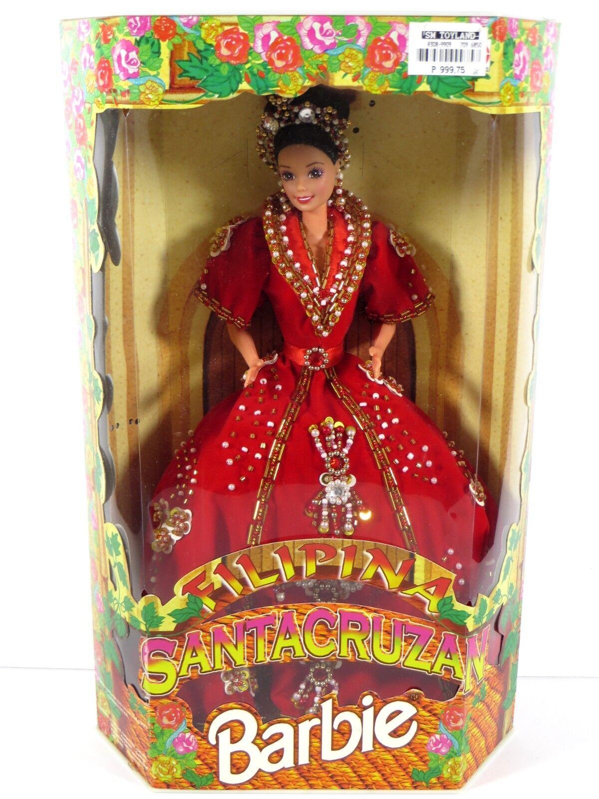 Nuevo en Caja Muñeca Barbie 1997  mercado extranjero Filipinas filipina santacruza