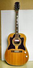 Vintage Dreadnaught Ac Gtr w-PU -nice wildwood (Japan) F-VF