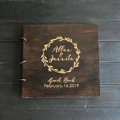 PERSONALISED SHABBY CHIC ANNIVERSARY SCRAPBOOK MEMORY PHOTO ALBUM GIFT MULTI USE