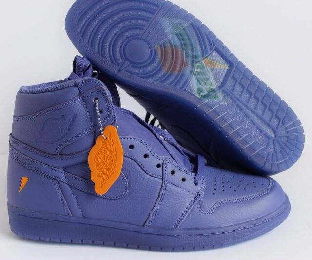 622b738a681155 11.5 Nike Air Jordan Retro 1 High OG G8rd Gatorade Rush Violet Grape  Aj5997-555