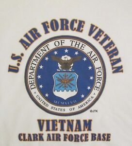 VIETNAM-CLARK-AIR-FORCE-BASE-U-S-AIR-FORCE-VETERAN-W-AIR-FORCE-EMBLEM-SHIRT
