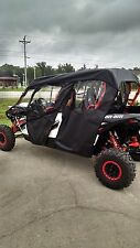 Can Am Commander/Maverick Max Doors Rear Window by HallcraftUTV with soft top