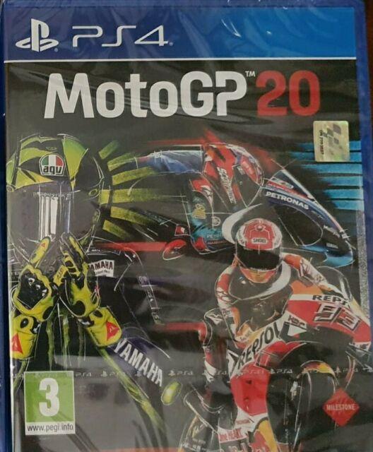 MOTO GP 20 PS4 VIDEOGIOCO UFFICIALE PLAYSTATION 4 IN ITALIANO NUOVO PAL EU