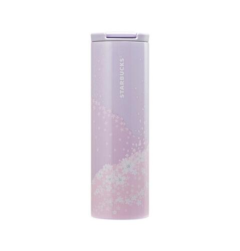 Starbucks Korea 2020 Cherry Limited SS Troy Blossom Landscape Tumbler 473ml