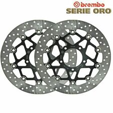 Pair of Brembo Serie ORO Fixed Front Brake Disc BMW S1000R 168B407D7