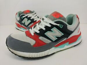 New-Balance-530-Encap-Running-Shoes-Red-Blue-Gray-Sneaker-M530AAD-Mens-Size-10-B