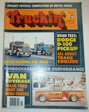 Truckin' Magazine Dodge D-100 Pickup June 1976 030315r