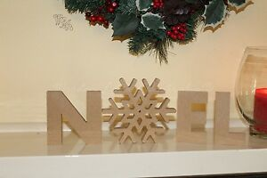 Details About Noel Letters Christmas Decoration Freestanding Wooden Letters Sign