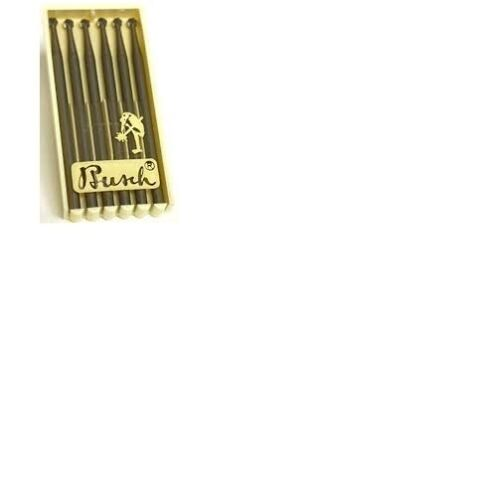 TF107 Busch 1 007 0.7mm Ball Burrs Fraizers 2.35mm Shaft Pack of 6 010061