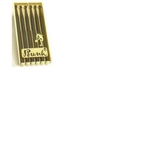 010061 Busch 1 007 0.7mm Bola rebabas fraizers 2.35mm Eje Pack de 6 TF107