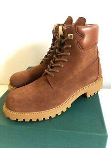 Brown Suede Site Boots Size