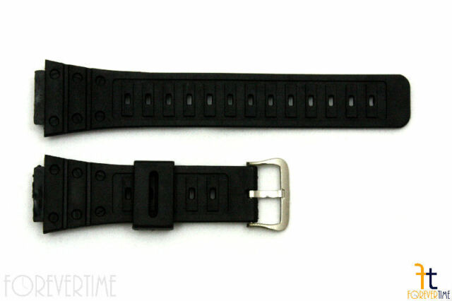 18mm Fits CASIO G-Shock DW-5600C Black Plastic Watch BAND Strap DW-5200 DW-5700C