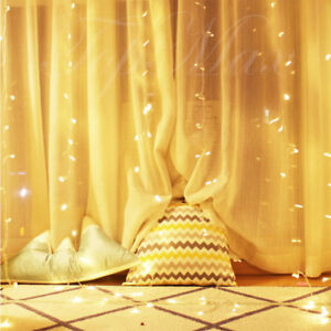 3x3M-Led-String-Fairy-Lights-Curtain-Party-Wedding-Indoor-Outdoor-Garden-RGB-AU