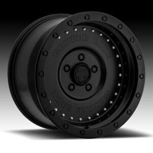 Centerline 842B Full Jacket Satin Black 17x9 6x5.5 -12mm (842B-7908412)