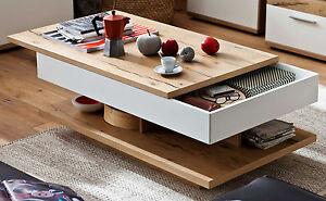 Das Bild Wird Geladen MCA Nizza Couchtisch Mit Schubkasten Wohnzimmertisch Stauraum