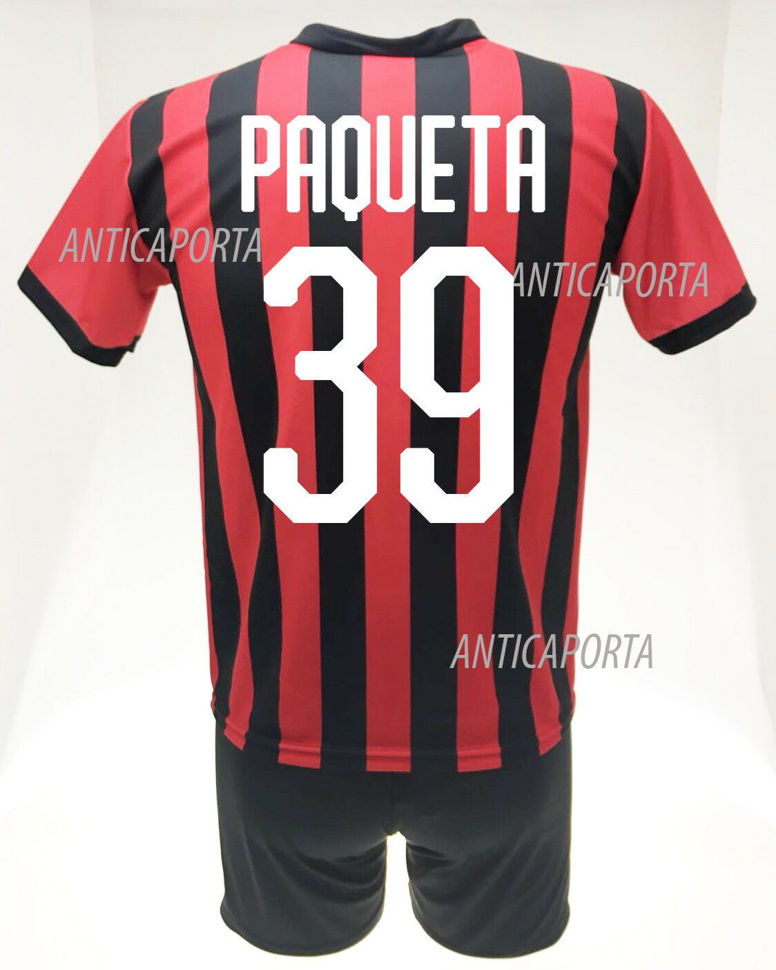 Set Paqueta Milan 2019 offizielle Trikot Shorts 2018 numero 39 Uniform