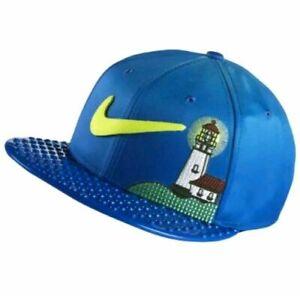 Nike Doernbecher Freestyle Chase Snapback Hat Blue Multi-Color 893227-437