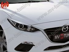 MV-Tuning Front Eyelids Halogen Headlights Covers Mazda 3 / Axela 2013-2016