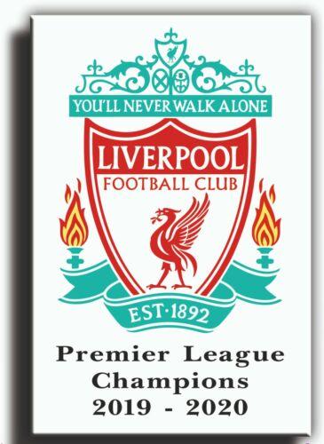 liverpool league winners canvas