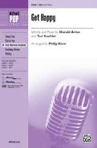 arranger upper Get Happy SSA; Kern equal voices Philip Unison 35696
