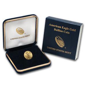 2018 1/10 oz Gold American Eagle BU (w/U.S. Mint Box) - SKU#152746