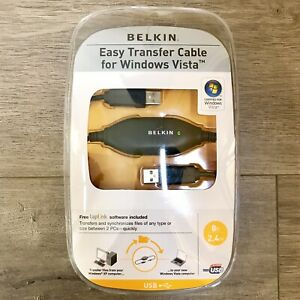 BELKIN-Easy-Transfer-Cable-for-Windows-Vista-Free-Software-Included-BRAND-NEW