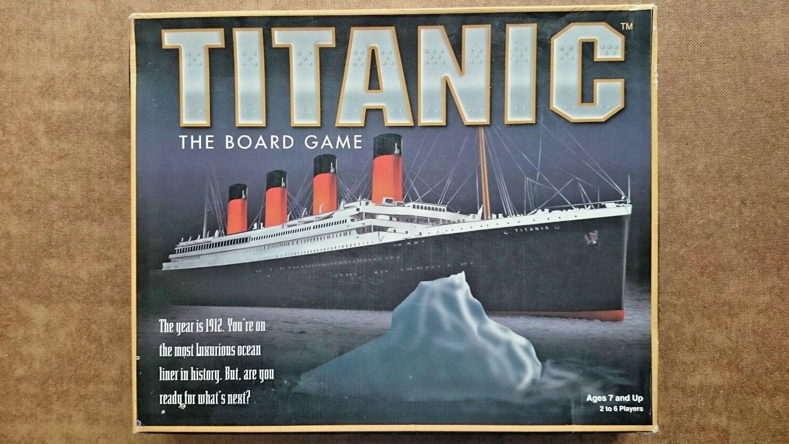TITANIC tavola gioco. da Universal  giocos 1998  il più alla moda