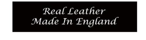 38mm RACCORDO Bottone a Pressione Fatto A Mano Vera Pelle Jeans Cintura Made in UK