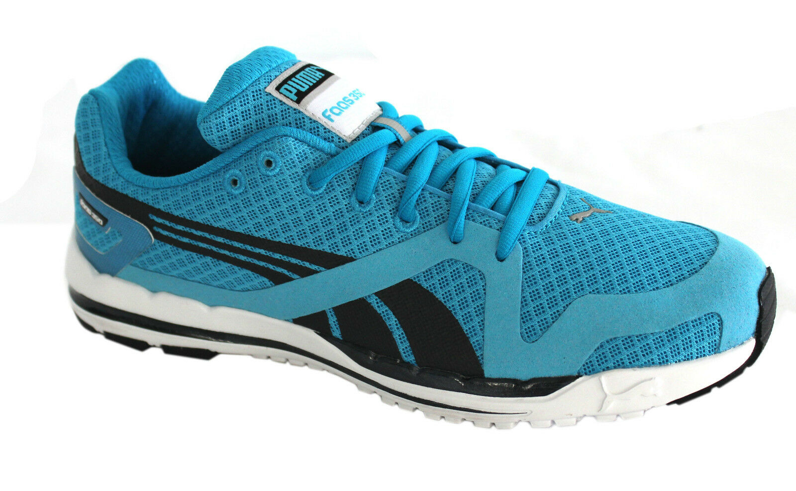 Puma Faas 350 S Mens Trainers Running Shoes Blue Lace Up Fitness 186140 04 D20 Great discount