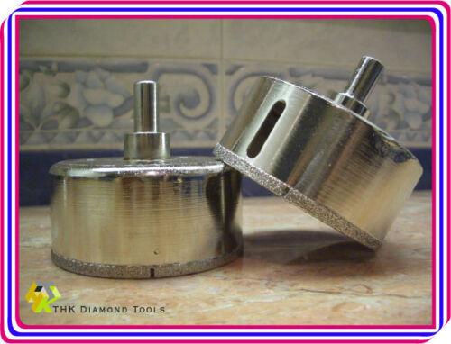 "1 pc 56mm 2 3//16/"" inch THK Premium Diamond coated hole saw core drills PILOT BIT"