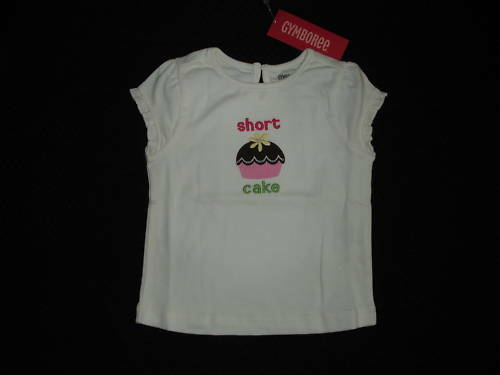 Girls GYMBOREE TEA FOR TWO Shortcake Top Sz 18-24 M NWT