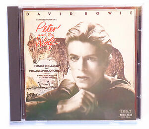 CD-ALBUM-DAVID-BOWIE-NARRATES-PROKOFIEV-039-S-PETER-AND-THE-WOLF-1985-JAPAN