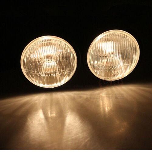 Smoke Twin Headlight Motorcycle Double Dual Lamp W// Bracket Street Universal