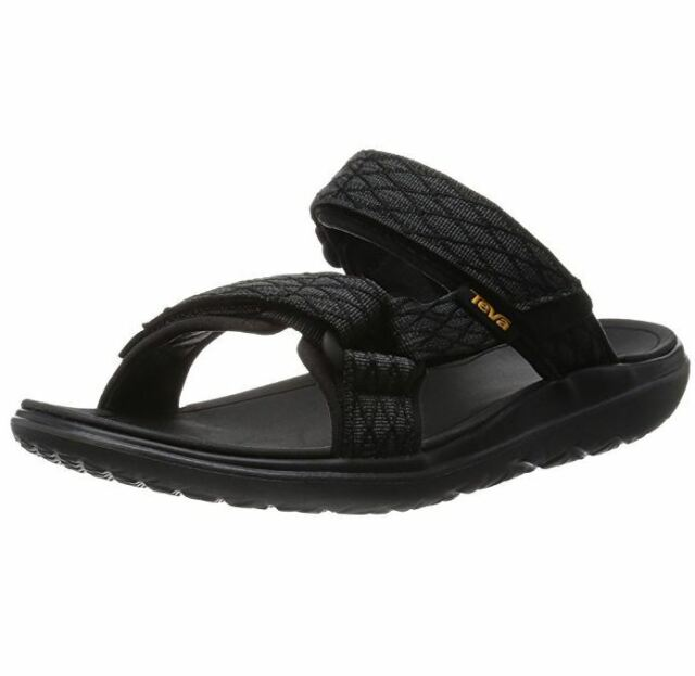 279727c92d229f Teva Terra Float Slides US 14 M Black Diamond Synthetic Sandals Mens Shoes   95