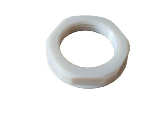 Gegenmutter Schlauchverschraubung PG9 weiß 2 Stück