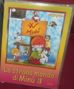 1-DVD-CARTONI-ANIME-TV-ANNI-80-LO-STRANO-MONDO-DI-MINu-3-LA-SIGNORA-MINU-12-EPIS