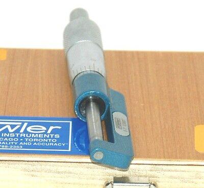 Fowler #52-241-025 Hub Micrometer 0-25mm