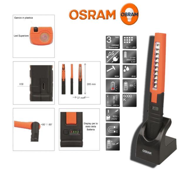 Lampada Ispezione Officina Garage OSRAM LEDIL103 LEDinspect PRO Slimline 280