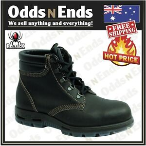 69226e87112 Details about NEW - USAOK Redback ALPINE CLARET OIL KIP LACE UP SAFETY TOE  BOOTS AUSTRALIAN