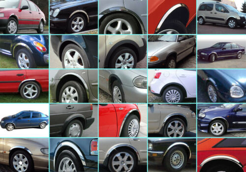 VW Touran gp radlauf las molduras cromo delante atrás frase 4 unidades año 06-10