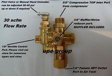 Gas Air Compressor Pilot Check Valve Unloader Valve Combo 95 125 Ng9